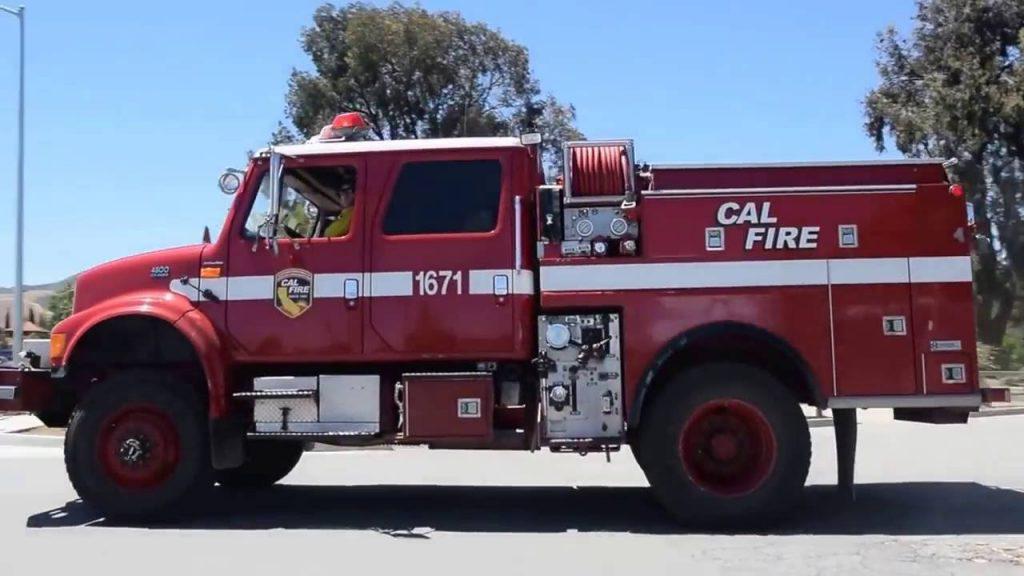 calfire fee